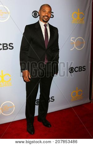 LOS ANGELES - OCT 4:  Aaron D Spears_ at the Carol Burnett 50th Anniversary Special Arrivals at the CBS Television City on October 4, 2017 in Los Angeles, CA