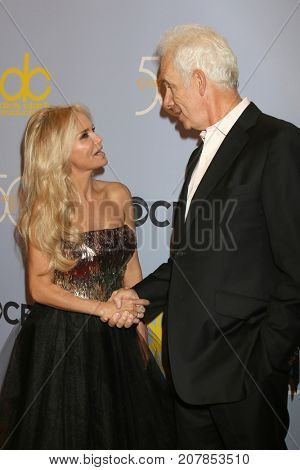 LOS ANGELES - OCT 4:  Kristin Chenoweth, Christopher Guest at the Carol Burnett 50th Anniversary Special Arrivals at the CBS Television City on October 4, 2017 in Los Angeles, CA