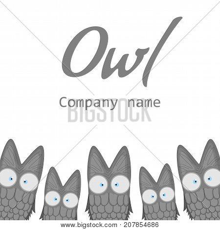 Love at First Sight Cross Stitch Pattern  Cute Hoot Owl