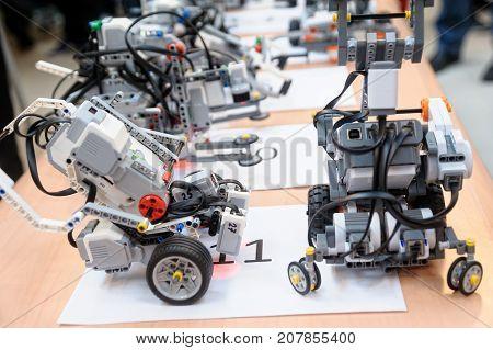 Robots Made Of Lego Blocks