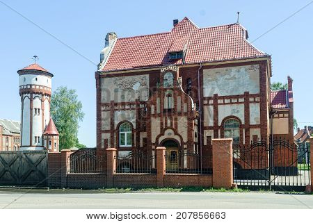 Former Infantry Barracks. Baltiysk. Russia