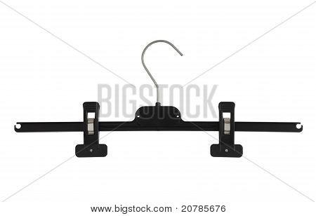 Plastic Black Pants Hanger With Pegs
