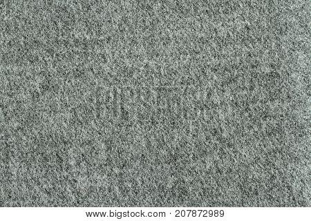 Light gray viscose fabric texture. Macro. Closeup