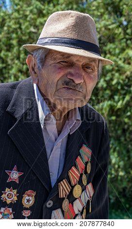 92 Year Old Armenian Veteran Of World War Ii