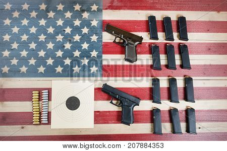 Right to Bear Arms in United States of America- Gun Control laws and US Constitution