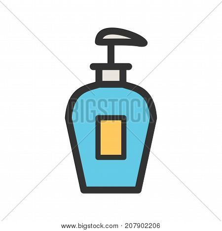 Soap, handwashing, clean icon vector image. Can also be used for Cleaning Services. Suitable for mobile apps, web apps and print media.