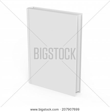 Blank Hard Cover Book Template