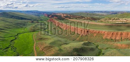 Panorama Of Red Canyon