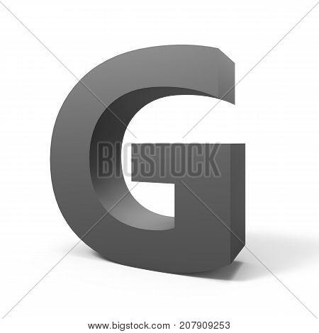 Grey Letter G
