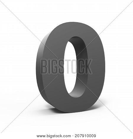 Left Grey Number 0