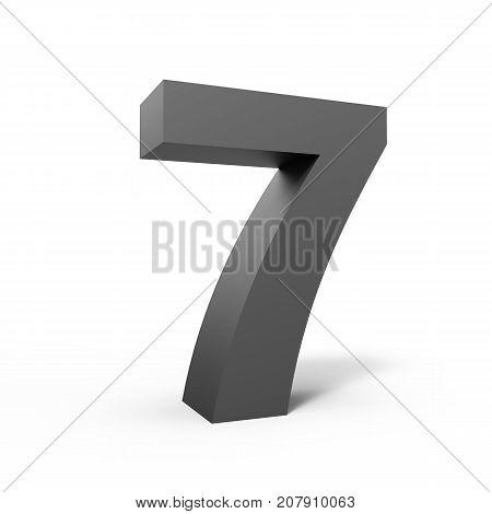 Left Grey Number 7