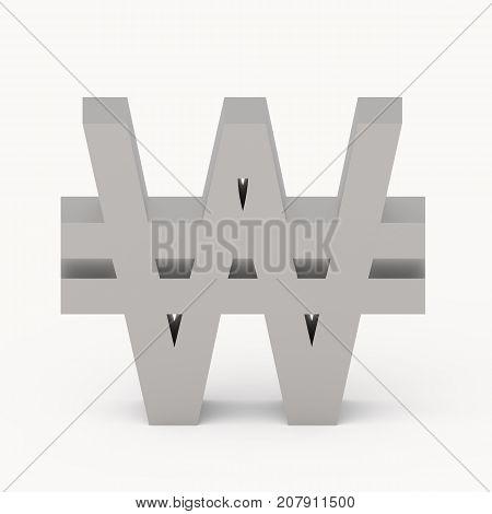 Grey Won Sign