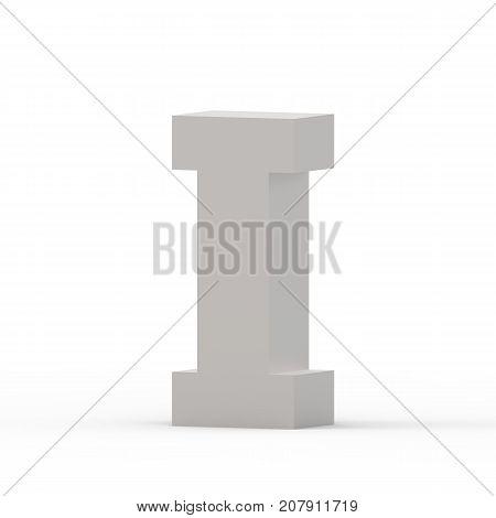 Matte Grey Font I