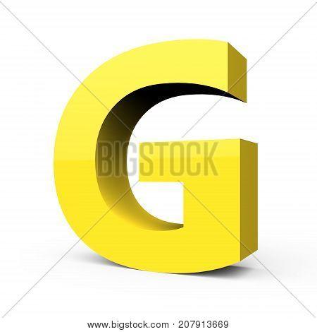 Matte Light Yellow Font G