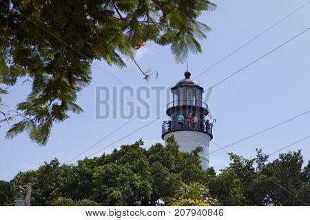 The Historical Key West Lighthouse