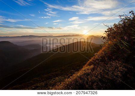 Adams Peak Sunrise View