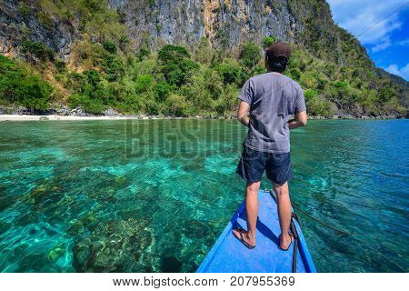 Tourists Enjoy Holidays In Coron, Philippines