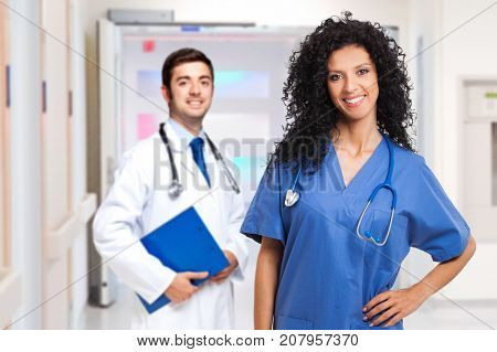 Portrait of medical workers