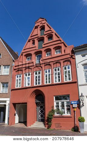 Red House In The Historic Center Of Luneburg