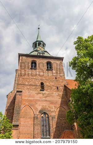 Tower Of The Michaelis Church Of Luneburg