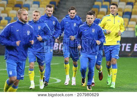 World Cup Qualifying: Ukraine V Croatia In Kiev. Pre-match
