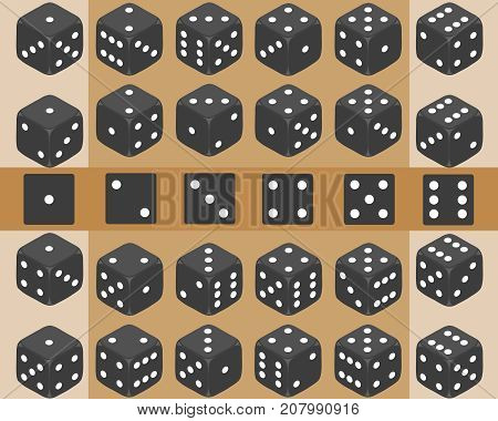 Dice, A Set Of Dice, Play Dice