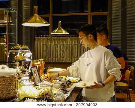 Buffet Restaurant In Saigon, Vietnam