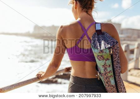 Healthy Woman After Her Fitness Workout