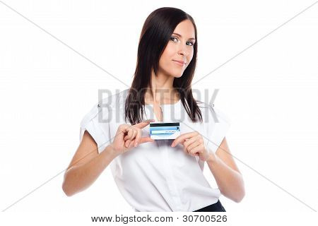 Purchases by credit card