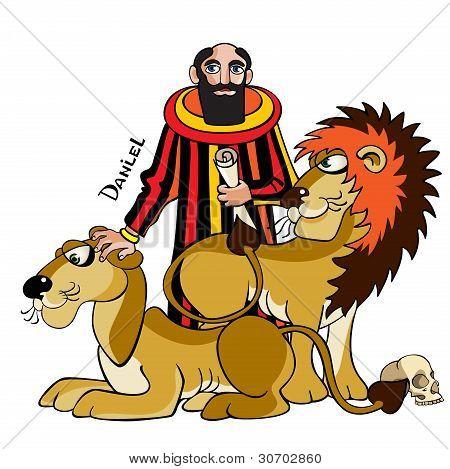 Daniel And Lions.