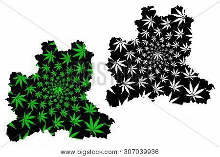Lipetsk Oblast (russia, Subjects Of The Russian Federation, Oblasts Of Russia) Map Is Designed Canna