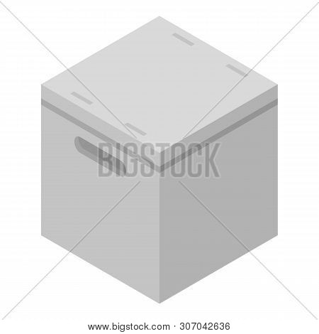 Cube Parcel Box Icon Vector & Photo (Free Trial) | Bigstock