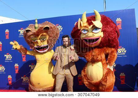 LOS ANGELES - JUN 15:  Nick Kroll, Big Mouth Characters at the 2019 MTV Movie & TV Awards at the Barker Hanger on June 15, 2019 in Santa Monica, CA
