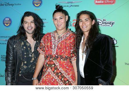 LOS ANGELES - JUN 16:  Guest, Fivel Stewart, BooBoo Stewart at the ARDYs: A Radio Disney Music Celebration at the CBS Studio Center on June 16, 2019 in Studio City, CA