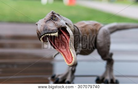 .toy Dinosaur Copy - Tyrannosaurus. The Most Popular Types Of Dinosaurs In The Form Of Children's To