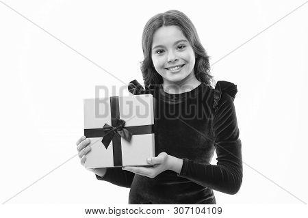 Birthday Girl Carry Present With Ribbon Bow. Art Of Making Gifts. Birthday Wish List. Happy Birthday