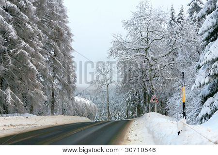 Winter in the german Harz