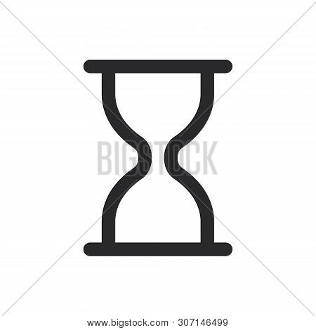 Wait Icon Isolated On White Background. Wait Icon In Trendy Design Style For Web Site And Mobile App