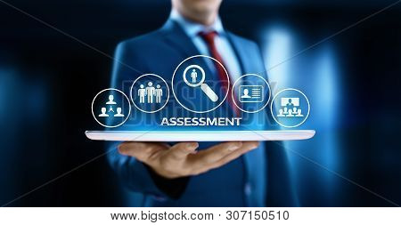 Assessment Analysis Evaluation Measure Business Analytics Technology Concept.