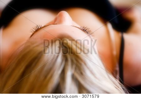Focus On Eye Lashes