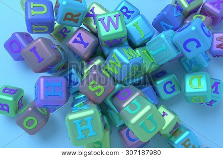 Background Abstract Cgi Geometric, Bunch Of Abc Character Symbol Or Sign For Design, Graphic Resourc