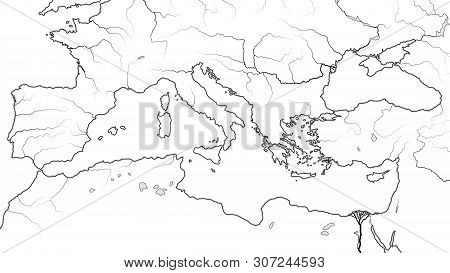 Mediterranean Region: South Europe (spain, French Riviera, Italy, Balkans, Greece), Asia Minor (turk