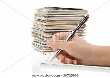 Pen In Hand Writing Post Cards.