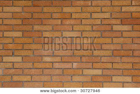 Tan  Brick Wall Background