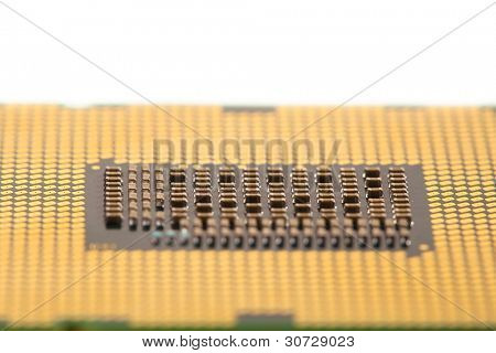 macro view of cpu processor