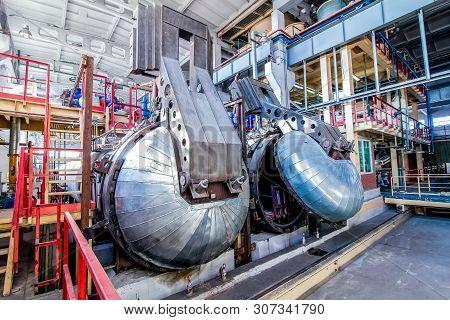 Autoclave For Concrete Blocks Production At Factory