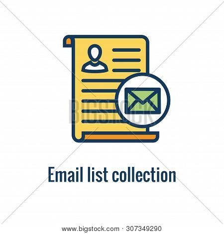 Email Marketing Rules And Regulations Icon  W Email List Collection Idea