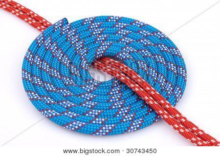 blue rope spiral