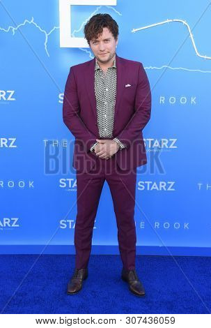 LOS ANGELES - JUN 17:  Jon Fletcher arrives for the STARZ 'The Rook' Premiere on June 17, 2019 in Los Angeles, CA