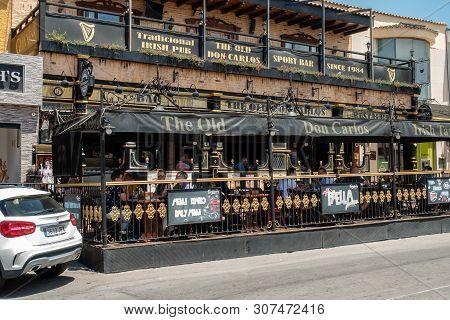 Ciudad Quesada, Alicante, Spain - June 19 2019 : The Old Don Carlos Bar And Restaurant In Quesada, B